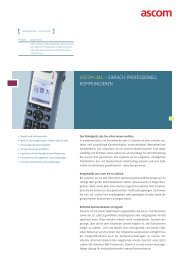 ASCOM d41 – EINFACH, PROFESSIONELL ... - headON