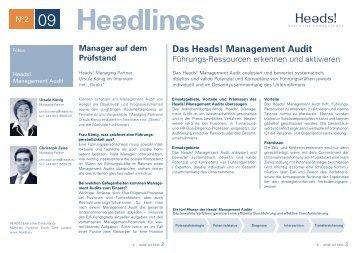 Das Heads! Management Audit