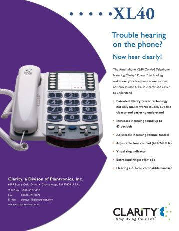 Trouble hearing on the phone? - Headset Experts