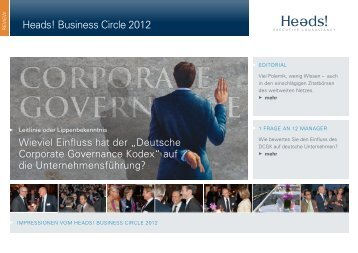 Heads! Business Circle 2012