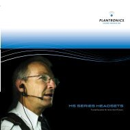 MS SERIES HEADSETS - First Comm, Inc.
