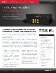 SU1000Li Product Brochure - Headset Experts