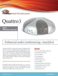 Quattro3-MT304 - Phoenix Audio Technologies