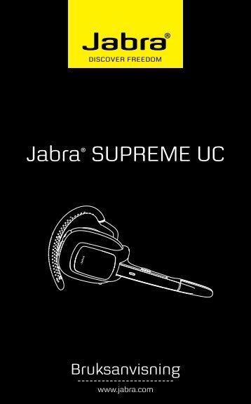 Jabra® SUPREME UC