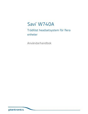 Manual Sv