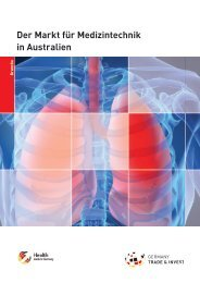 Der Markt für Medizintechnik in Australien - Health - Made in Germany