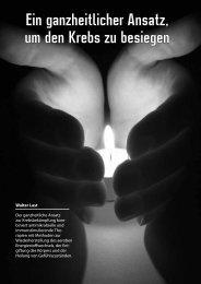 Ein ganzheitlicher Ansatz, um den Krebs zu besiegen - Health ...