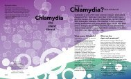 Chlamydia: The Silent Threat - New York State Department of Health