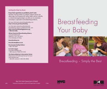 Breastfeeding - Simply the Best - New York State Department of Health