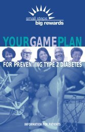 Your Game Plan for Preventing Type 2 Diabetes - New York State ...