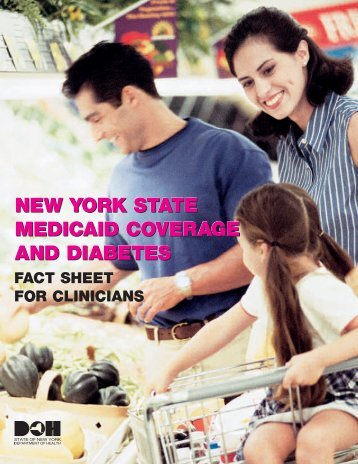 Medicaid Coverage and Diabetes Fact Sheet for Clinicians