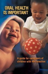baby teeth are important - New York State Department of Health