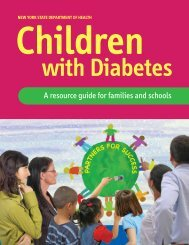 Children with Diabetes, a Resource Guide for Families and Schools