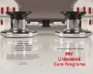 HIV Uninsured Care Programs - New York State Department of Health