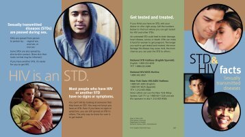 STD & HIV Facts - New York State Department of Health