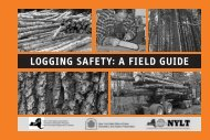 Logging Safety: A Field Guide - New York State Department of Health