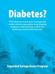 Diabetes? - New York State Department of Health