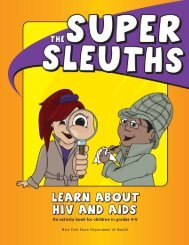 The Super Sleuths Learn About HIV and AIDS - New York State ...