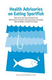Health Advisories on Eating Sportfish - New York State Department ...