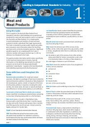 Meat and Meat Products - Queensland Health
