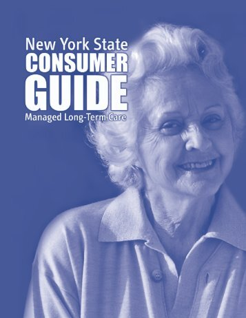 New York State Consumer Guide: Managed Long-Term Care