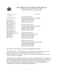 recommendation to the Legislature to extend the FHCDA to ...