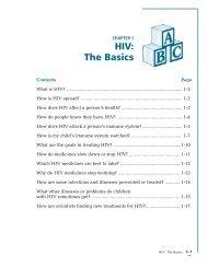 HIV: The Basics
