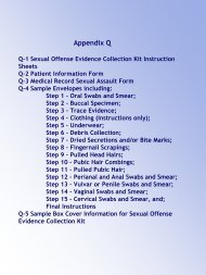 Sexual Offense Evidence Collection Kit - New York State ...