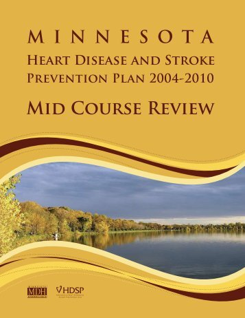 Heart disease and stroke midcourse review.indd - Minnesota ...