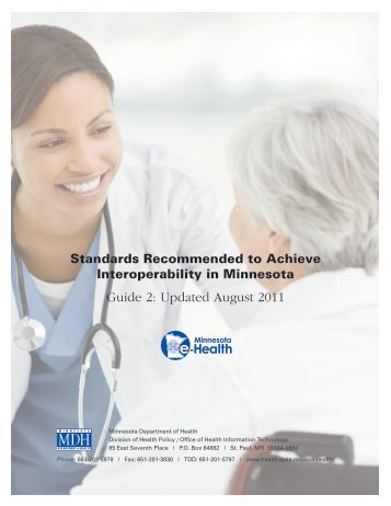 Guide 2: Updated August 2011 - Minnesota Department of Health