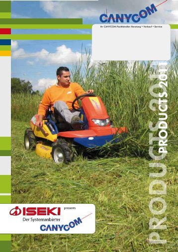 Canycom Produktbroschüre