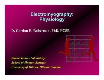Electromyography: Physiology
