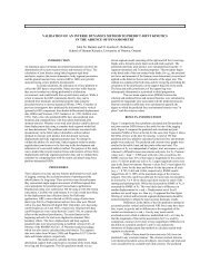 VALIDATION OF AN INVERSE DYNAMICS METHOD TO PREDICT ...