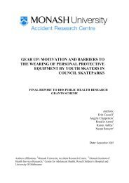 Motivation and barriers to the wearing - Department of Health