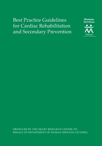 Best Practice Guidelines for Cardiac Rehabilitation and Secondary ...