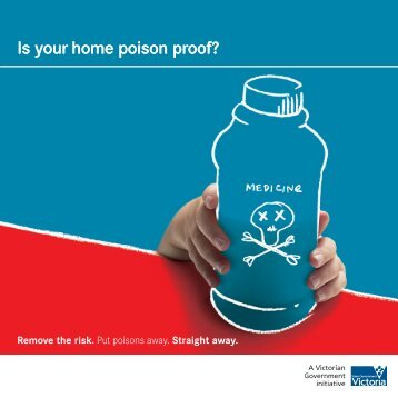 Brochure - Is your home poison proof? (1603kb, pdf)
