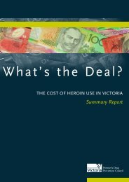 What's the Deal? - Department of Health