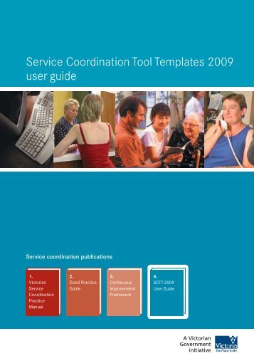 Service Coordination Tool Templates 2009 user guide
