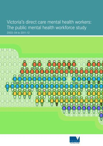 Victoria's direct care mental health workers - Department of Health