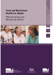 Food and Nutritional Health for Adults