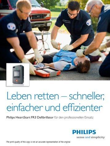 Leben retten – schneller, einfacher und effizienter - Philips Healthcare
