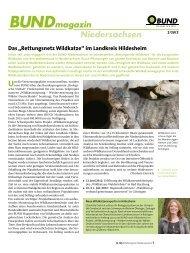 Bundmagazin Niedersachsen - BUND LV Niedersachsen e.v.