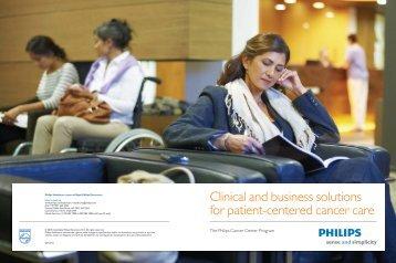 Cancer Center brochure Global - Philips Healthcare
