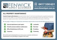 A full range of domestic and commercial property maintenance services