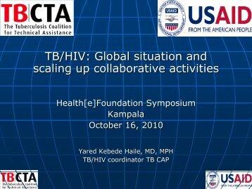 TB/HIV - Health[e]Foundation