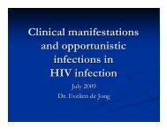 Clinical Manifestations & Opportunistic Infections - Health[e ...