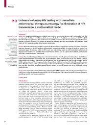 Universal voluntary HIV testing - Health[e]Foundation