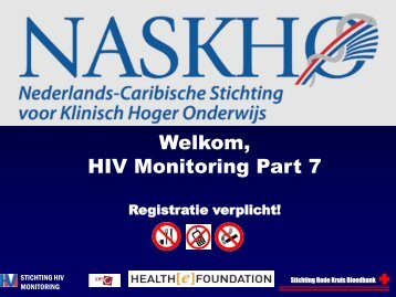 Welkom, HIV Monitoring Part 7 - Health[e]Foundation