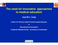 The need for innovative approaches to medical education - Health[e ...
