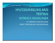 HIV/Counseling and Testing - Health[e]Foundation